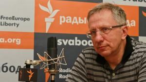 С. Николюк выступает на Радио «Свабода» (Минск, июль 2011 г.)