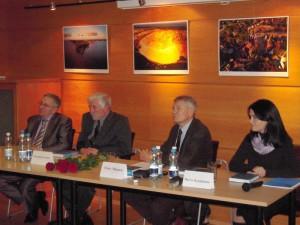 Презентация новой книги НИСЭПИ о молодежи в посольстве Литвы (декабрь 2011 г.)