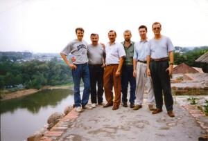 Докладчики регионального семинара НИСЭПИ по экономическим реформам в посткоммунистическом обществе (Гродно, август 1995 г.)
