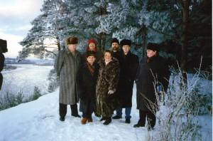 Докладчики регионального семинара НИСЭПИ по проблемам формирования общественных лидеров в дороге (Гродно, декабрь 1996 г.)