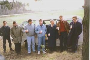 Докладчики регионального семинара НИСЭПИ по проблемам формирования общественных лидеров в дороге (Гомель, май 1997 г.)