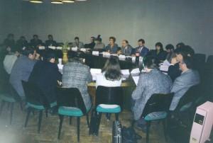 Семинар НИСЭПИ для директоров независимых телекомпаний РБ (Минск, январь 1998 г.)