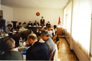 Региональный семинар НИСЭПИ по проблемам формирования информационно-аналитической инфраструктуры частного предпринимательства в РБ (Могилев, май 1999 г.)