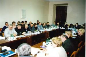Региональный семинар НИСЭПИ по проблемам формирования информационно-аналитической инфраструктуры частного предпринимательства в РБ (Витебск, ноябрь 1999 г.)