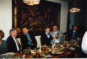 Совместная встреча Нового Года НИСЭПИ и Аналитического центра «Стратегия» (Минск, декабрь 1999 г.)