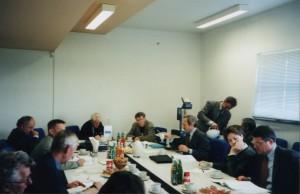 Встреча аналитиков Белорусских фабрик мысли с лидерами Координационной рады демократических сил РБ (Минск, август 2001 г.)