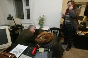 Ночной обыск КГБ в офисе НИСЭПИ (Минск, декабрь 2004 г.)