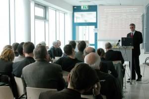 Ежеквартальный брифинг НИСЭПИ в посольстве Германии (Минск, октябрь 2005 г.)
