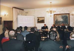 Эксперты НИСЭПИ с профессором Рэдфордского университета Г. Иоффе на первой международной конференции БИСС (Киев, сентябрь 2007 г.)