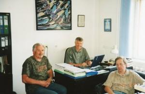 В офисе НИСЭПИ (август 2007 г.)