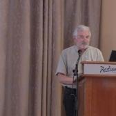 А. Соснов выступает на международной конференции «Будущее Беларуси», посвященной 20-летию НИСЭПИ (Вильнюс, май 2012 г.)