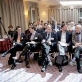 Участники международной конференции «Будущее Беларуси», посвященной 20-летию НИСЭПИ (Вильнюс, май 2012 г.)